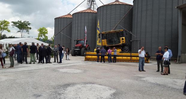 Inaugurato il nuovo impianto di stoccaggio cereali del Consorzio Agrario Provinciale