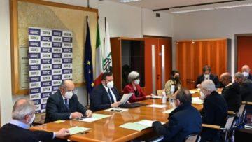 La firma del Patto biologico in Regione